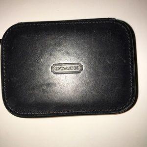 COACH Triple Pill Box Travel Case